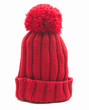 red woollen cap