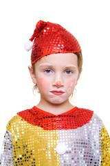 unhappy clown