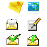 envelopes set poster