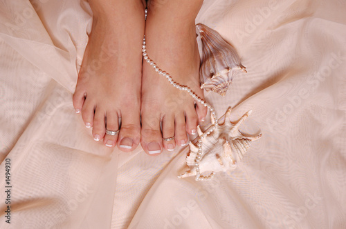 poster of feet and pearl