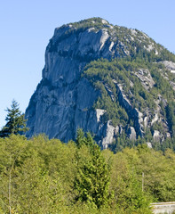 the rock, tantalus, vancouver