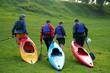 après la session - kayak
