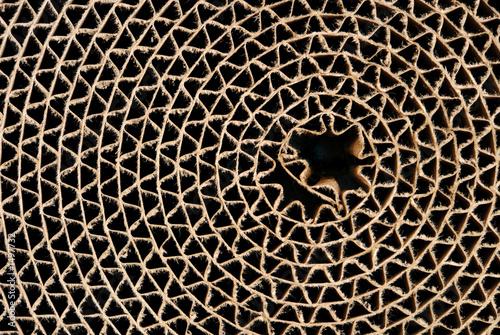 cardboard circle - 1497732