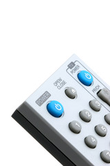 remote control closeup