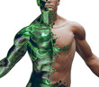3d cyborg