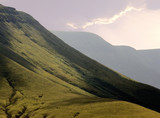 landscape countryside hills mountains scenery scen poster