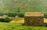 Fototapeta stone barns