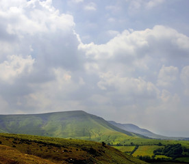 gospel pass the black mountains, powys, mid wales