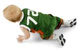 crawling baby poster