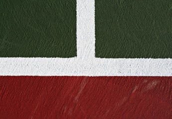 tennis court abstract