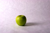 a granny smith apple poster