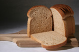 whole wheat bread. poster