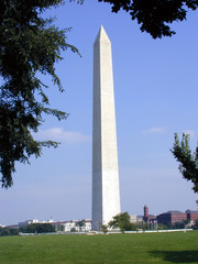 washington monument with smithsonian