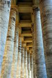 vatican columns 2 poster