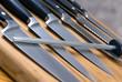 Leinwandbild Motiv kitchen knives