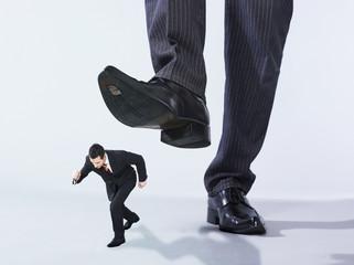 hommes d'affaires géant