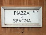italian square poster