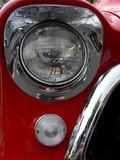 red, light & chrome