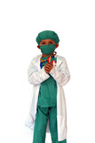 surgeon with mask poster