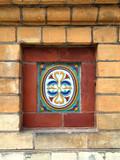 ceramic folk decoration in russia poster