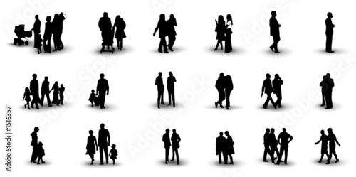 people silhouette 3 - 1516357