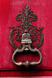 france, normandie: rouen, old handle poster