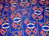 norway field poster