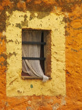 old rustic window poster