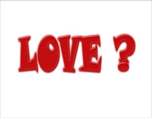ou est l'amour ?