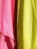colorful textiles abstract texture poster