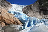 Fototapety the glacier