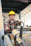 heavy equipment operator poster