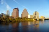 austin texas skyline at dusk