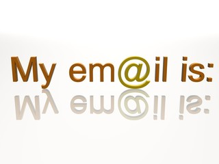 my email is