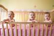 three baby girls