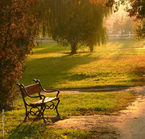 park-bench-at-sunset