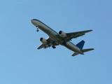jet plane in flight - take off poster