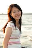 oriental girl poster