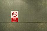 zone non fumeur poster