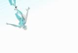 platinum girl climbing poster