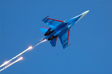 su-27 fireworks