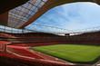 Leinwandbild Motiv football stadium © karl o'sullivan