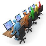 Fototapety business - internet access #2