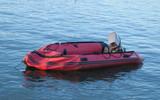 deflated boat