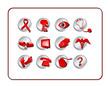 medical & pharmacy icon set