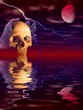 stock digital illustration of halloween concept