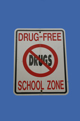 drugs free school zone