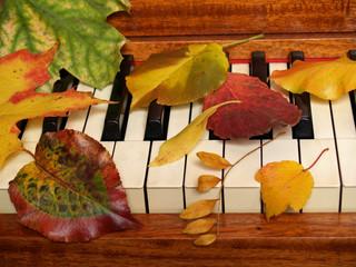 autumn music tickles the ivories