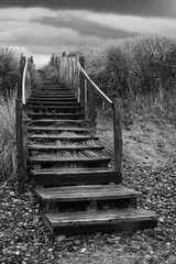 stairs to the dunes