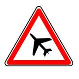 danger avion poster